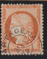 YT 38 Obl 40c Orange, Oblitération Espagnole, TB - France