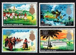 Fiji. 1967 International Tourist Year. SG 360-363. MNH - Fiji (...-1970)