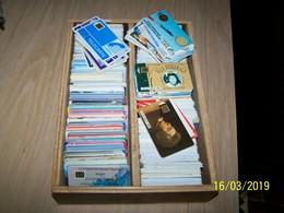 Lot D'environ 700  Télécartes  Françaises - Télécartes