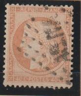 YT 38 Obl 40c Orange, Oblitération ASNA, TB - France
