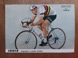 Ercole Baldini Campione Del Mondo - Cartolina Affrancata E Annullata + Spese Postali - Ciclismo