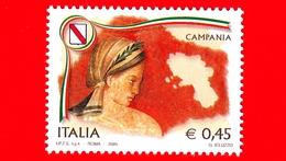 Nuovo - MNH - ITALIA - 2005 - Regioni D'Italia - Campania - 0,45 - 6. 1946-.. República