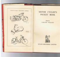 Motor Cyclist's Pocket Book - 1960 - Moto, Scooter,... Livre En Anglais Avec Index - Infos Pratiques,... (Fr71) - Autres