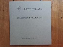 REPUBBLICA - Celebrazioni Colombiane - Cartoncino Con Foglietto Del Poligrafico - Nuovo ** + Spese Postali - 6. 1946-.. Repubblica