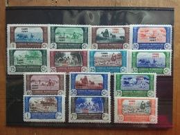 COLONIE SPAGNOLE 1945 - CAPO JUBY - Francobolli Del Marocco Sovrastampati - Serie Completa Nuova ** + Spese Postali - Cabo Juby