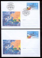 "Moldova 2019 25 Years Since Republic Of Moldova Joined The ""Partnership For Peace"" Pre-paid Envelope+FDC - Moldova"