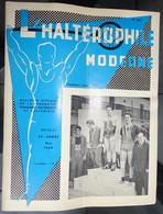 "Revue Mensuel - L'haltérophile Moderne N 254 - Mai 1969 ""fédération Française"" - Deportes"