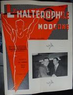 """Revue Mensuel - L'haltérophile Moderne N 253 - Avril 1969 """"fédération Française"""" - Deportes"""