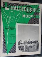 """Revue Mensuel - L'haltérophile Moderne N 252 - Mars 1969 """"fédération Française"""" - Deportes"""