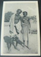 BEAUTIFUL ANCIENT NEW POSTALCARD OF FATHER AND DAUGHTER  CUNAMI // AUTENTICA CARTOLINA  DELL' ERITREA - Eritrea
