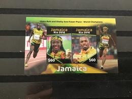 Jamaica - Postfris / MNH - Sheet Olympische Spelen Rio 2016 - Jamaique (1962-...)