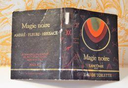 Miniature Sur Carte Magie Noire Lancome - Echantillons (tubes Sur Carte)