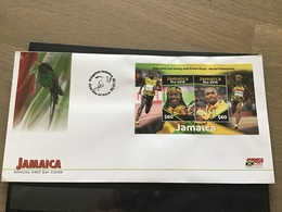 Jamaica - Postfris / MNH - FDC Sheet Olympische Spelen Rio 2016 - Jamaique (1962-...)