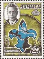 USED STAMPS  Jamaica - The 1st Caribbean Boy Scout Jamboree -1952 - Jamaique (1962-...)