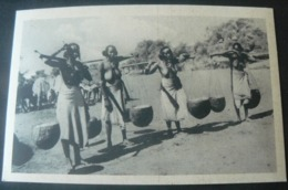 ORIGINAL NEW  OLD  POSTALCARD OF PEOPLE CUNAMI IN ERITREA /.AUTENTICA CARTOLINA  DELLA COLONIA ERITREA - Eritrea