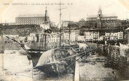 Granville - Le Port Un Jour De Tempête - Granville
