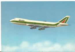 CP AVION BOEING 747 ALITALIA  I-DEMA  ISSUE - 1946-....: Era Moderna