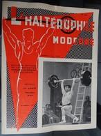 """Revue Mensuel - L'haltérophile Moderne N 249 + Suppl 30 Pages - Dec 1968 """"fédération Française"""" - Sport"""