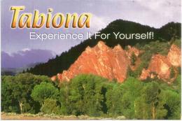 Native American Tribe Shoshone In Tabiona. Utah., Postcard UTAH, Sent To Andorra, With Arrival Postmark - Amérique