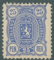 FINLAND -  MH/* - 1889 -  Yv 32A Mi 31A PERF 12 1/2 - Lot 19210 - ONE PERF DEFECT - 1856-1917 Administration Russe
