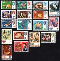 Fiji.  1968 Local Motives And Queen Elizabeth II. MNH - Fiji (...-1970)