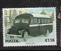 MALTA 2013 POLICE BUS HV - Malte