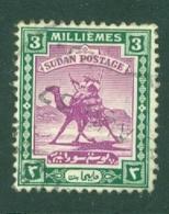 Sdn: 1927/41   Arab Postman    SG39    3m    Used - Sudan (...-1951)