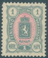 FINLAND -  MH/* - 1890 -  Yv 33 Mi 32Ab PERF 12 1/2 - Lot 19211 - 1856-1917 Administration Russe