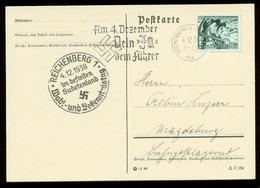 P0775 - DR Postkarte: Gebraucht Mit Sudetenland Sonderstempel Reichenberg 1938 - Germany