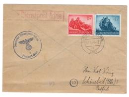 WWII 1944, Gorz (Gorizia, Italy) To Schönebeck, Germany - Deutsche Dienspost Adria Postmark - DF-29 - Germany