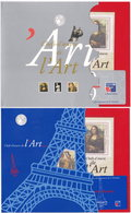 Chefs-d'oeuvre De L'Art. Philex France 99. 2 Pochettes Complètes (1) - Blocs & Feuillets