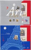 Chefs-d'oeuvre De L'Art. Philex France 99. 2 Pochettes Complètes (2) - Blocs & Feuillets