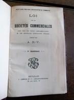 Petit Code Pratique Des Sociétés De Commerce 1913 - Wetten & Decreten