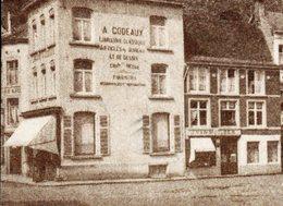 Nivelles. Fontaine De L'obélisque. Librairie A. Codeaux. Aux Jardins De Valence G. Matheys. Café De La Bourse. 1983 - Nivelles