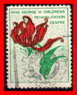 RHODESIA / ZIMBABWE  SELLO KING GEORGE VI CHILDRENS - Oficiales
