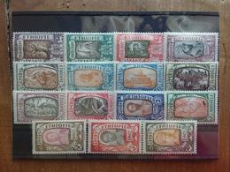 ETIOPIA 1919 - Effigi E Soggetti Vari - Serie Completa Nuova * (2 Valori Denti Difettosi Non Calcolati) + Spese Postali - Etiopia