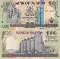 Uganda - 1000 Shillings 2008 UNC Pick 43b Lemberg-Zp - Ouganda