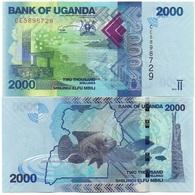 Uganda - 2000 Shillings 2019 UNC Lemberg-Zp - Ouganda