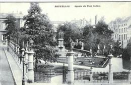 BRUXELLES - Square Du Petit Sablon - Oblitération De 1912 - Edit. : Cortenbergh Ltd, Bruxelles - Places, Squares
