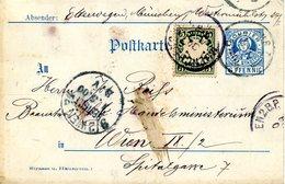 """Entier Postal """"Courier"""" De Münich (Bavière Pour Vienne (Autriche"""" Daté Du 30/04/1900 - Bayern"""