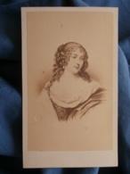 CDV Photo Desmaisons à Paris - Comtesse De Grignan, Tirage Albuminé Vers 1870 L433 - Old (before 1900)