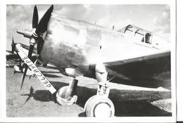 PHOTO AVION CURTISS A IDENTIFIER  12X8CM - 1939-1945: 2a Guerra
