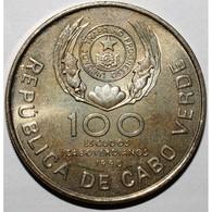 CAP VERT - 100 ESCUDOS 1990 - VISITE DU PAPE JEAN PAUL II - SUPERBE - - Cap Vert