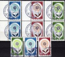 CEPT 3 Sets 1964 Portugal 963/5+3x ZD-Paar SST 15€ Motiv Blüte Mit 22 Blätter M/s Se-tenant Bf Topics United EUROPA - Europa-CEPT
