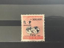 Bolivië / Bolivia - WK Voetbal (300.000) 1986 - Bolivië