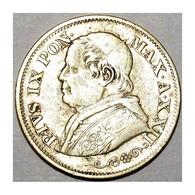 VATICAN - PIE IX (1846-1878) - 10 SOLDI 1867 R (ROME) - XXII - TRES TRES BEAU - - Vatican