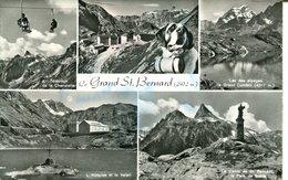 007201  Le Grand St. Bernard  Mehrbildkarte  1963 - VS Wallis