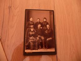 Photo CDV Grand Format Ferdinand Bérillon Bayonne Famille - Personnes Anonymes