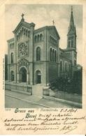 007205  Gruss Aus Basel - Marienkirche  1901 - BS Basel-Stadt