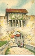 007206  Estavayer - La Porte Du Camus  1957 - FR Freiburg